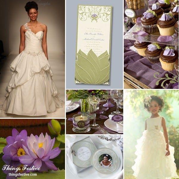 Fairy Tale Wedding Inspiration: The Princess & The Frog\'s Tiana ...