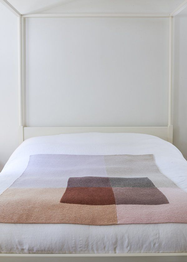 Shadow Study Throw- free pattern from Purl Soho | knitty | Pinterest ...