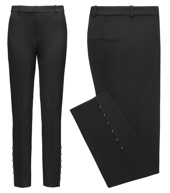 Slim-fit cropped trousers BOSS hVWMn
