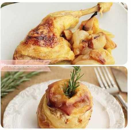 Manzana 18 recetas para aprovechar las manzanas comida for Cenas faciles y economicas