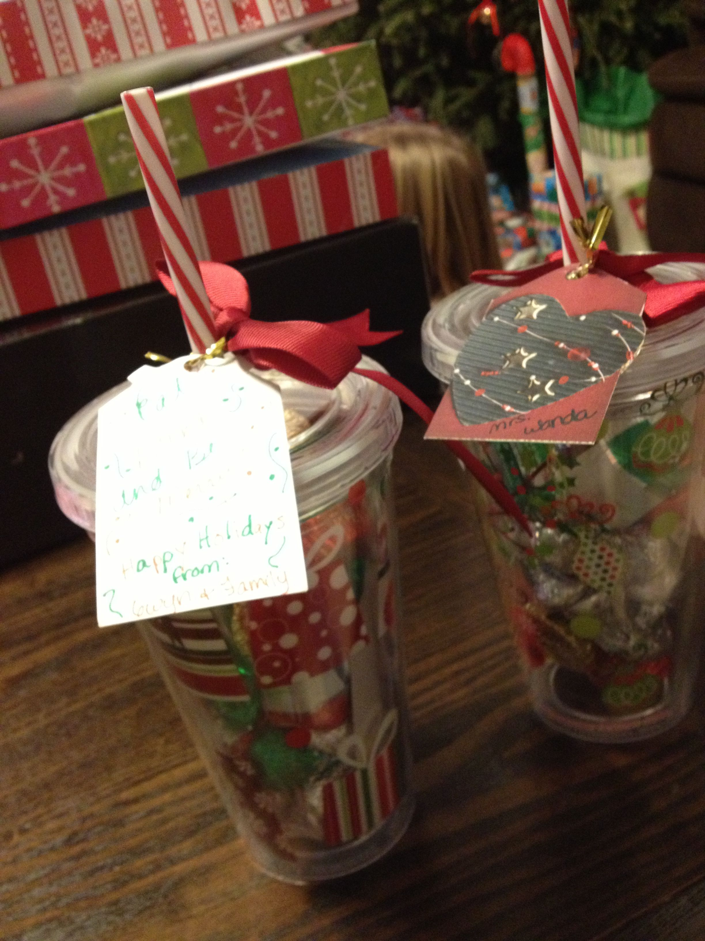 Preschool teacher gifts for Christmas! | Gift ideas | Pinterest
