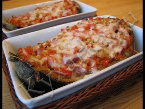 Баклажаны с ветчиной | Еда, Кулинария, Блюда из баклажанов