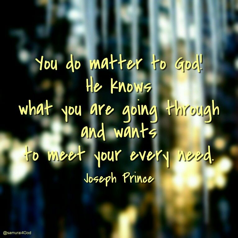 Joseph Prince Satan Wants You To Believe You Don't Matter