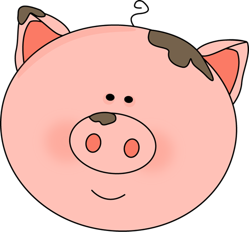 pig face with mud images pinterest clip art patterns and rh pinterest com funny pig clipart cute pig clipart free