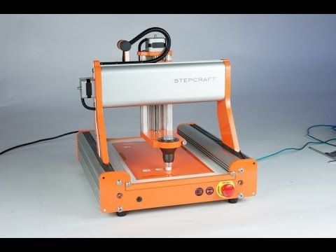 Stepcraft Laser Attachment SNEAK PREVIEW - Cutting Model