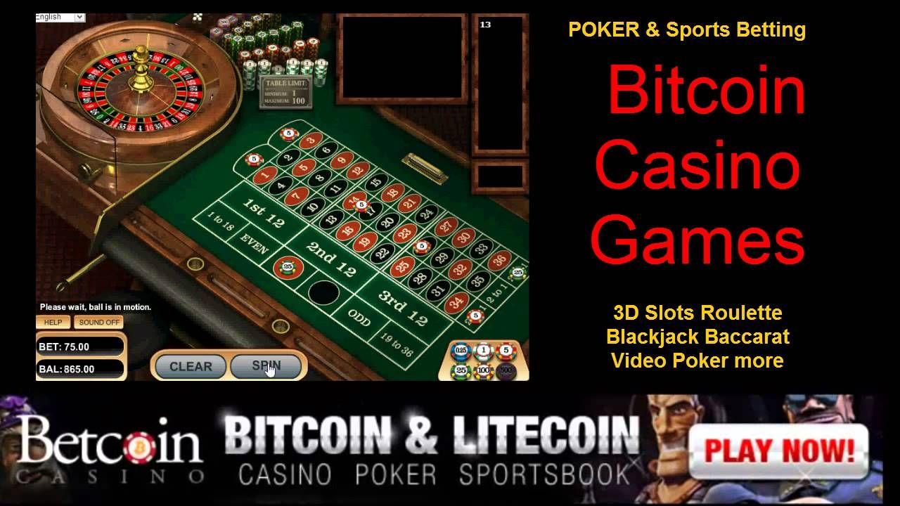 American Roulette Bitcoin Casino Games Video poker