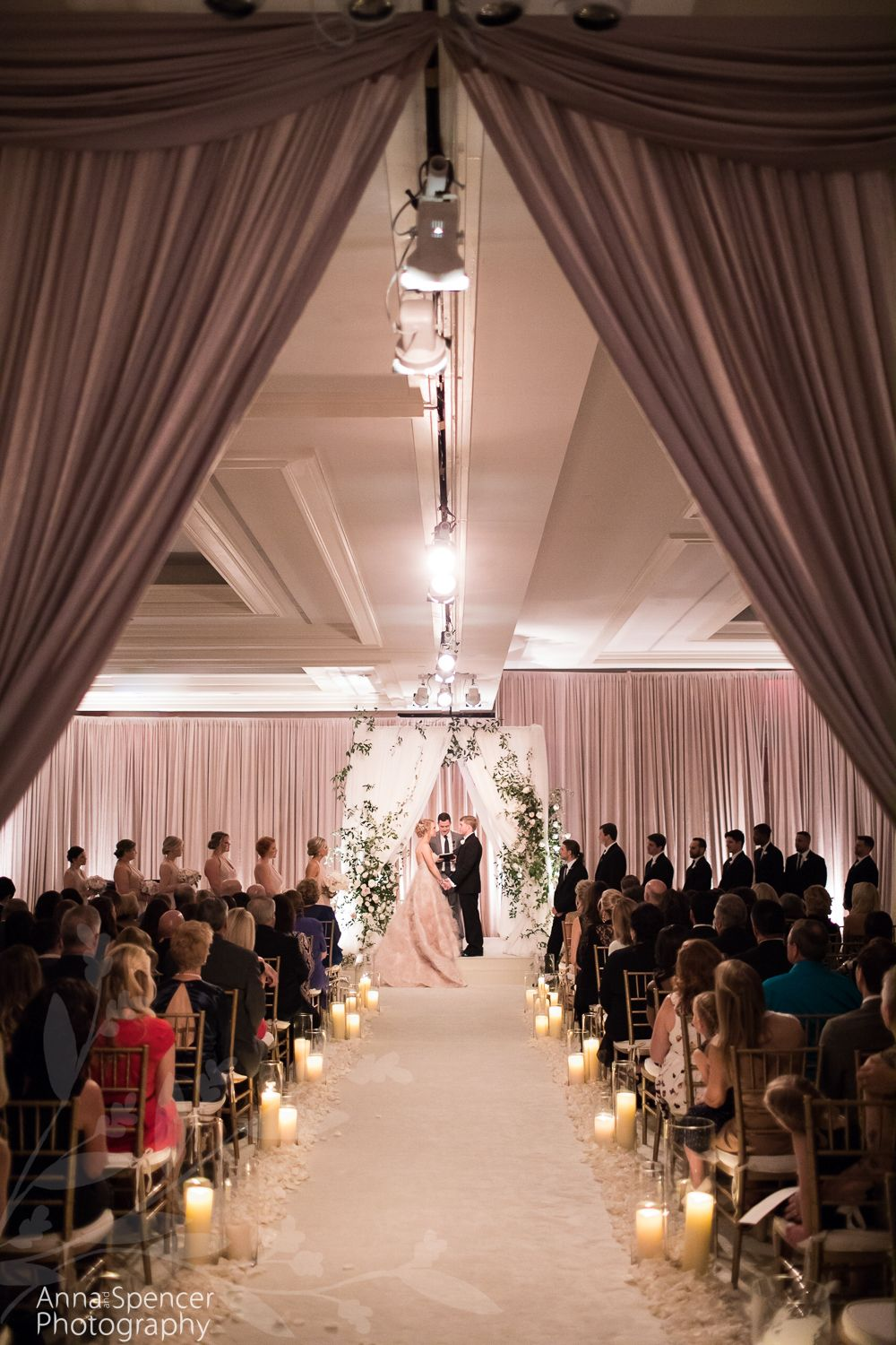 intimate wedding packages atlantga%0A Ritz Carlton Buckhead Wedding Ceremony in Atlanta  also known as The  Whitley Hotel