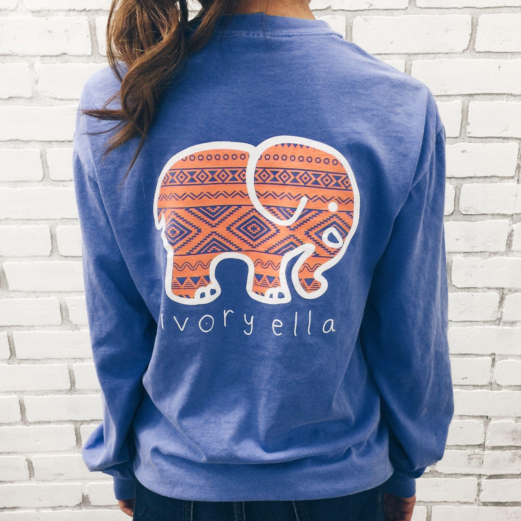 96e80fa58530 Ivory Ella Sweatshirt in this color  ) best part is a portion of every order  goes towards saving the elephants  3