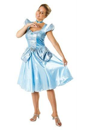 Adult Cinderella Costume Princess Party Ideas Pinterest - princess halloween costume ideas