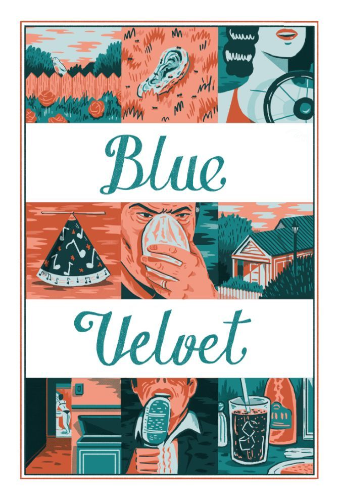 Blue Velvet - Andres Lozano ---- http://www.bottleneckgallery.com/collections/where-is-my-mind