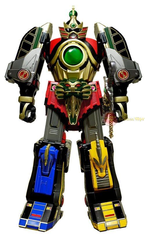 Mighty Morphin Power Rangers – Legacy Thunder Megazord