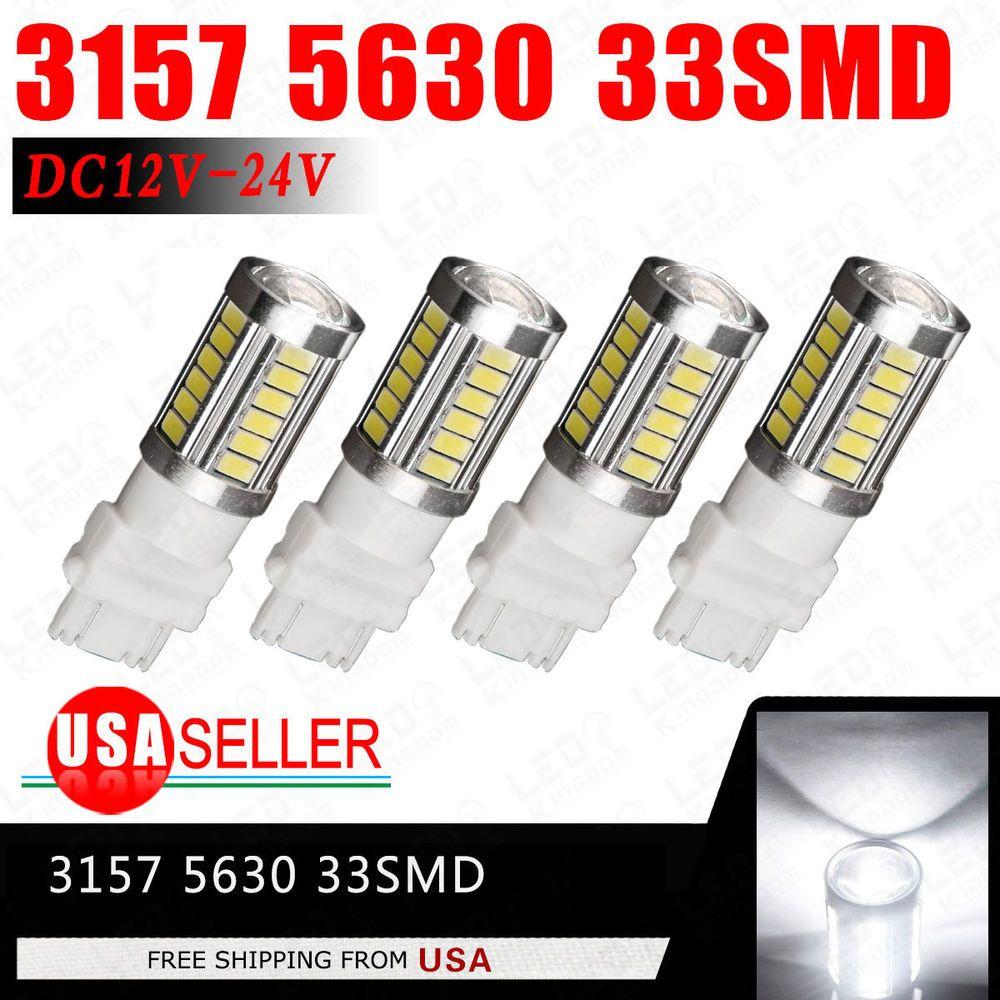 2x 7443 7440 Amber Yellow High Power Backup Reverse Led Interior Light Bulbs Led Light Bulb Led Lights Led