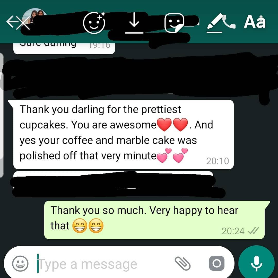 Feedback! Feedback! Feedback! This makes me even a more happy little baker😁 . . . . . . .