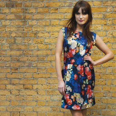 Artists Roses Floral Print collection. Available in 2 colourways in trousers, top, jacket or dress.