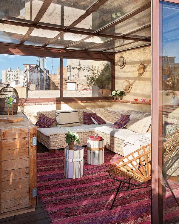 Terraza Tipo Solarium Para Disfrutar Tambien En Invierno Cerramientos Terrazas Techo De Patio Pergolas Terraza