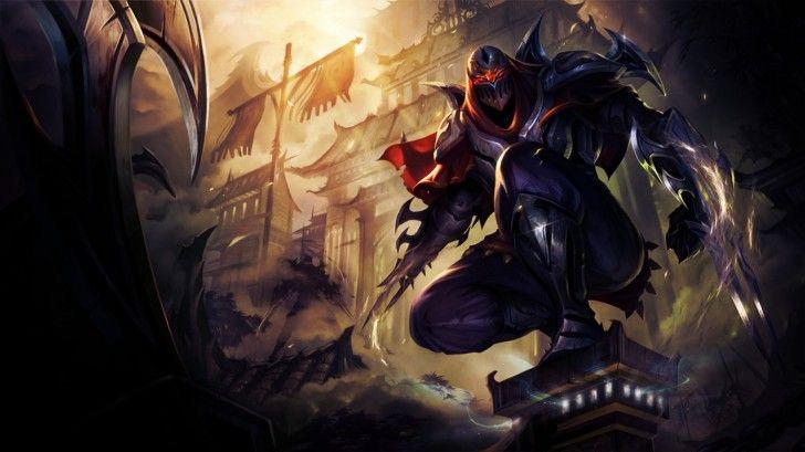 Zed League Of Legends Hd Wallpaper Ninja Armor 19201080 Zed 2019