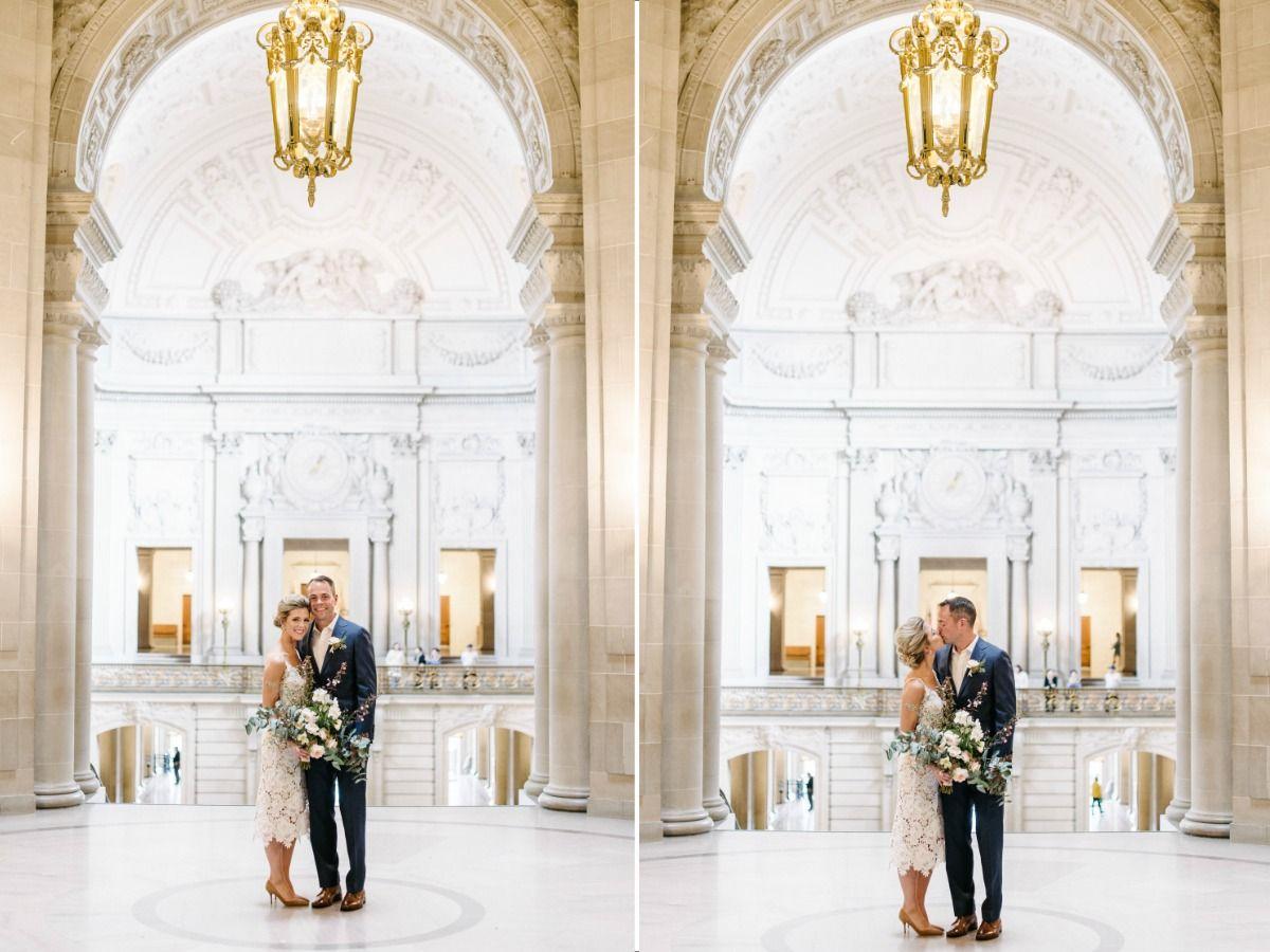 Romantic City Hall Wedding Melanie Duerkopp Courthouse