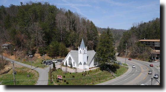 Ivy Rose Wedding Chapel Gatlinburg TN