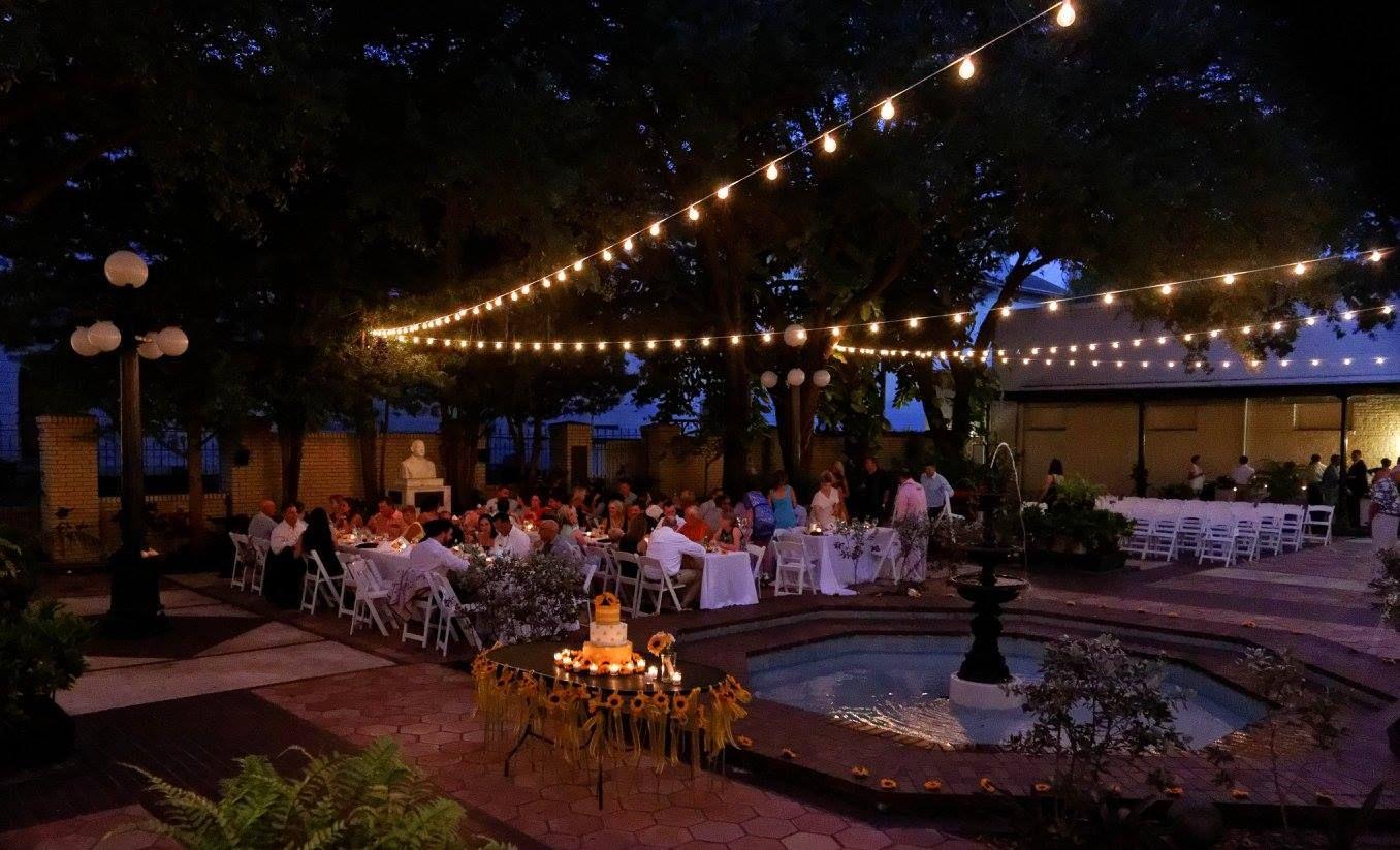 Intimate Garden Wedding Ybor Museum
