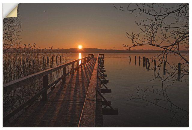 Photo of Premium Wandfolie »A. Potratz: Frostiger Morgen am Ratzeburger See«