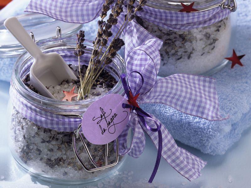 Sali da bagno fai da te | Olio essenziale e soap ideas | Pinterest ...
