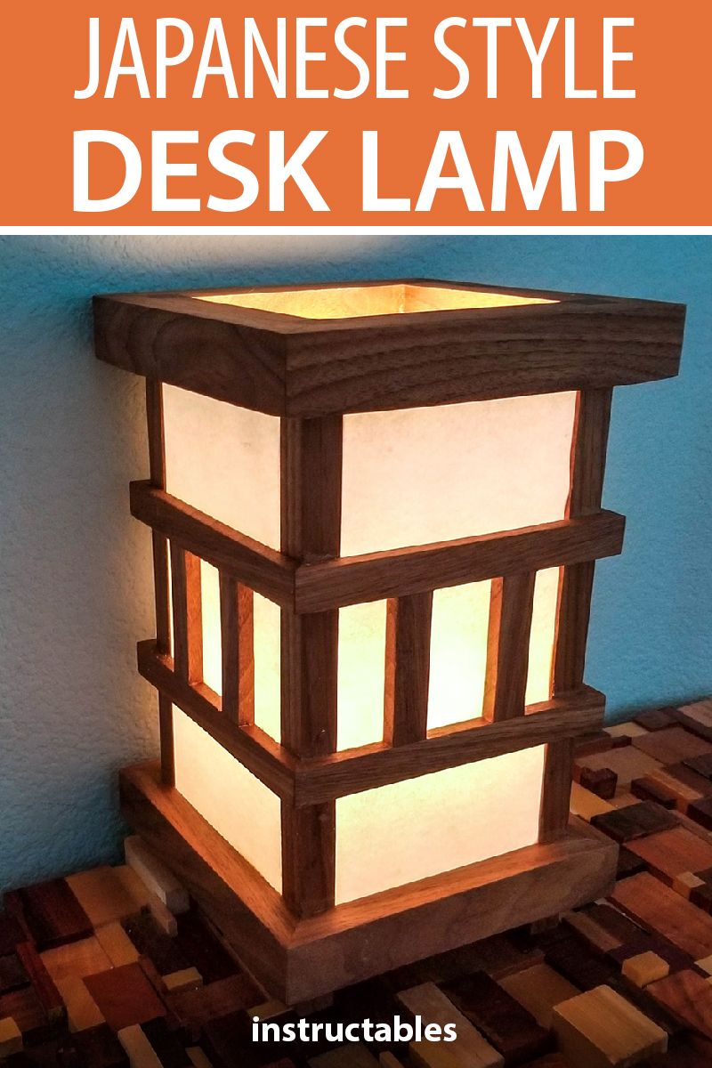 Asian Oriental Japanese Bamboo Trees Art Bedside Or Table Lamp Wood Light Shades Ebay Table Lamp Wood Wooden Pendant Lamp Table Lamp Design