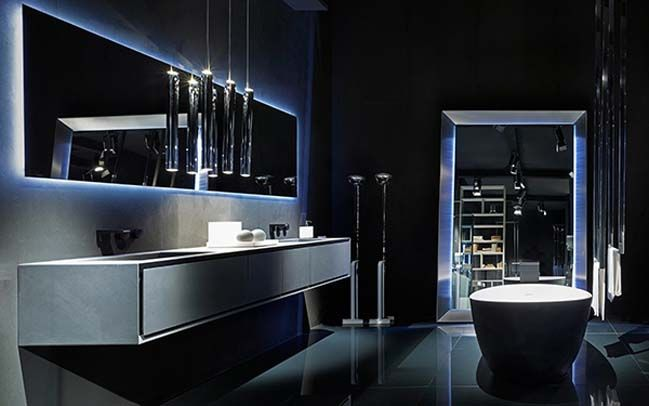 Rifra Luxury Modern Bathroom Designs With Light Effect Modern