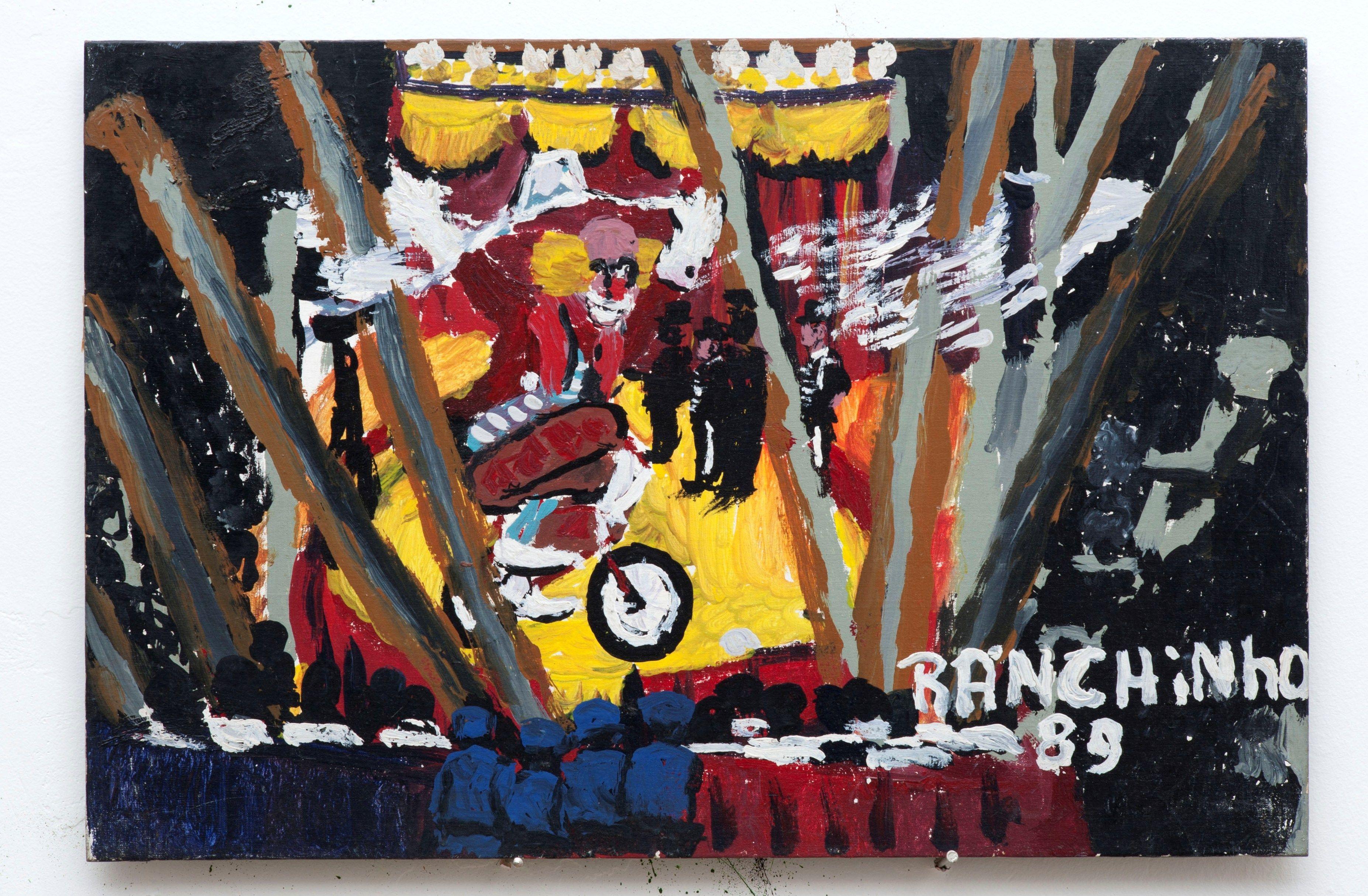 Ranchinho (Sebastião) - 1989  Circo  Óleo sobre Tela | Eucatex  42 x 63 cm
