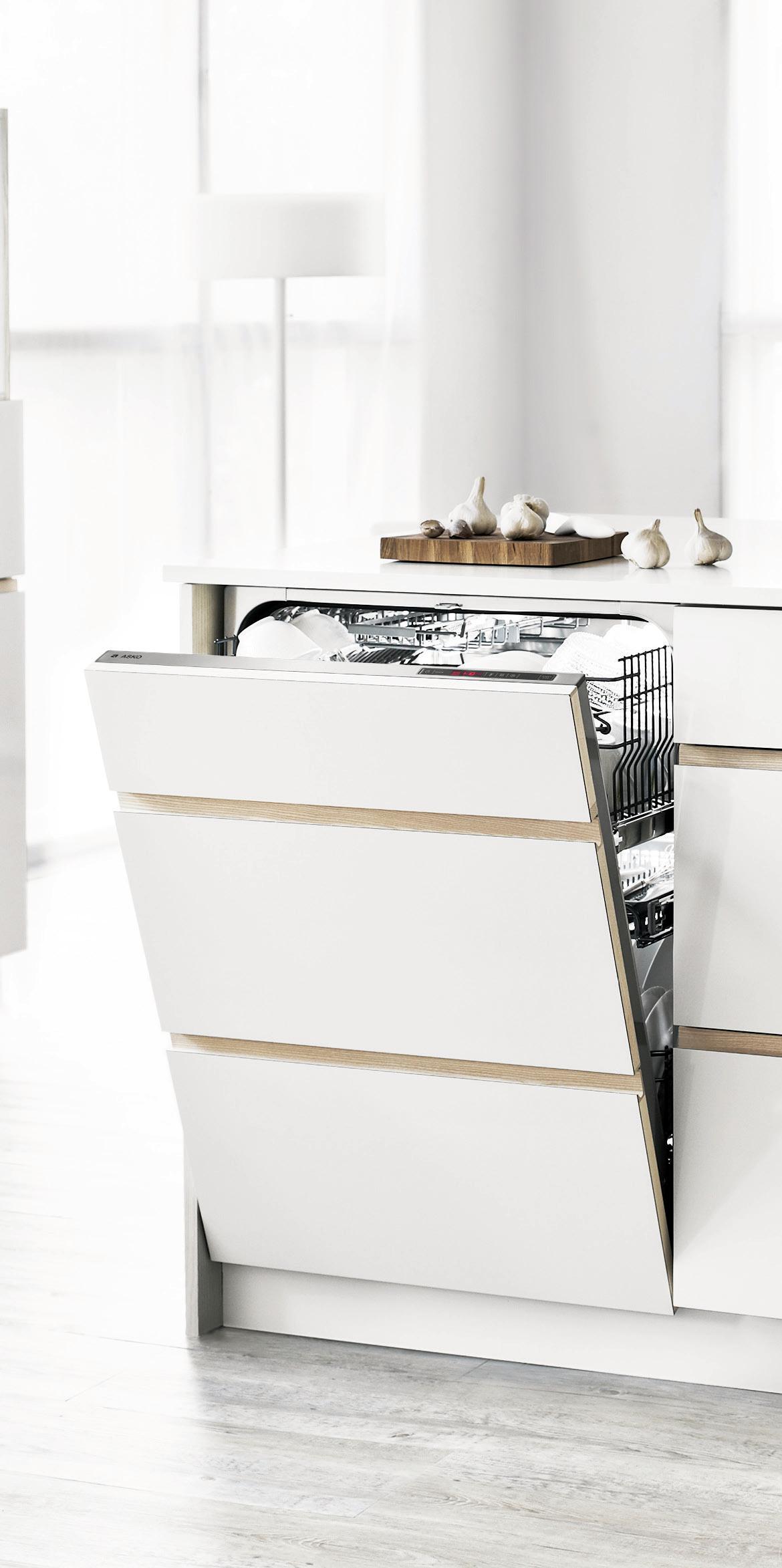 Hidden Cabinet Dishwasher Discrete Design Allows For Functionality To Perfection Meet In This Minimalist Tranquil Kitchen Dis Hidden Cabinet Hafele Kitchen