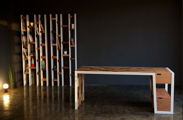 office wood desk. office wood desk made from recycled decoist bookcases desks o