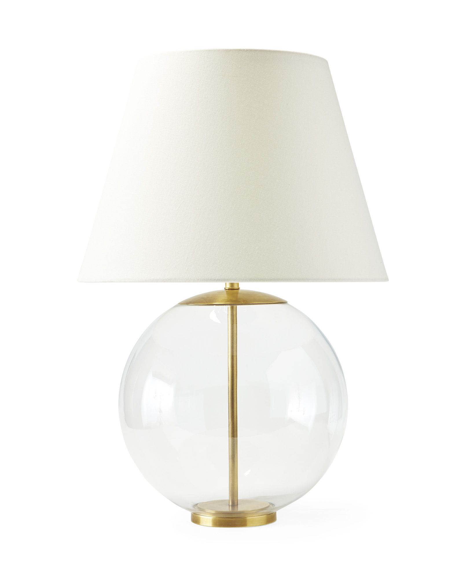Glass Base Table Lamps Georgia Table Lamp  Linens Room And Lights