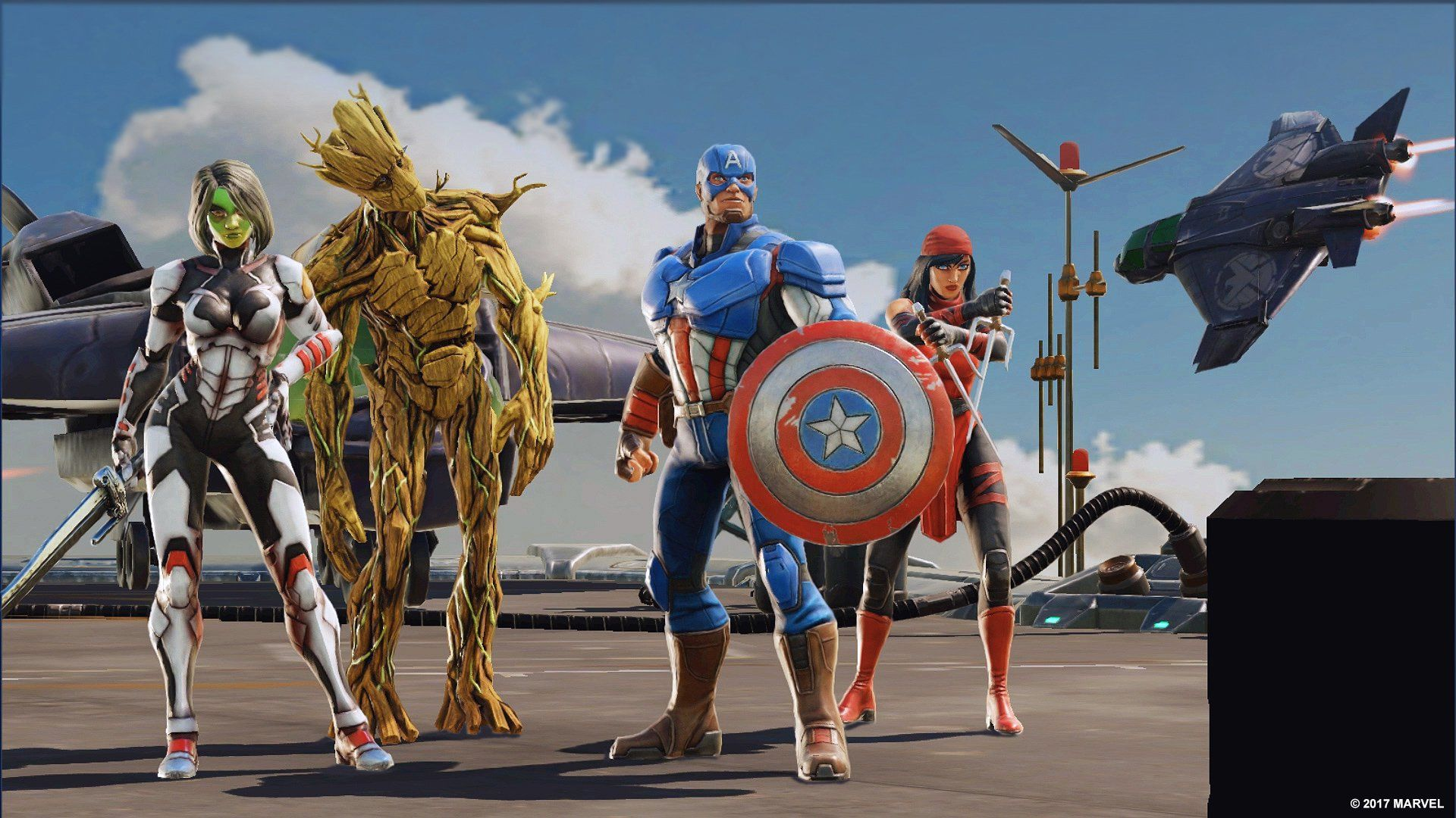 Marvel Strike Force is the new squadbased superhero RPG