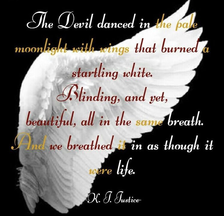 The Devil Danced In The Pale Moonlight Motivationalquotes