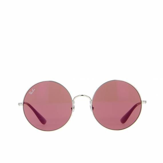 ray ban femme ronde rouge