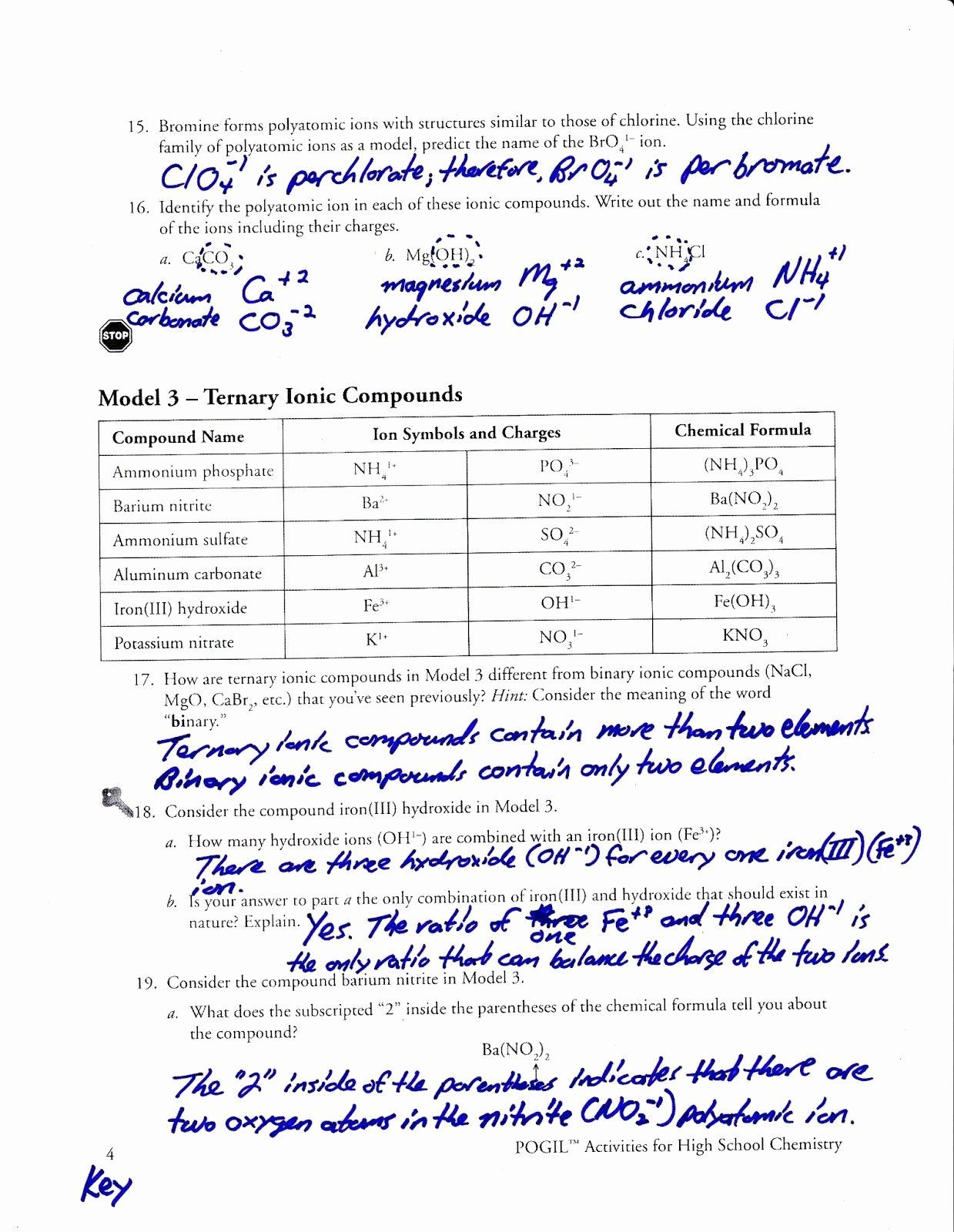 50 Naming Ionic Compounds Worksheet Answers In