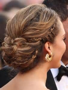 Updo Hairstyles For Backless Dress Thick Hair Styles Braided Hairstyles Updo Hair Styles