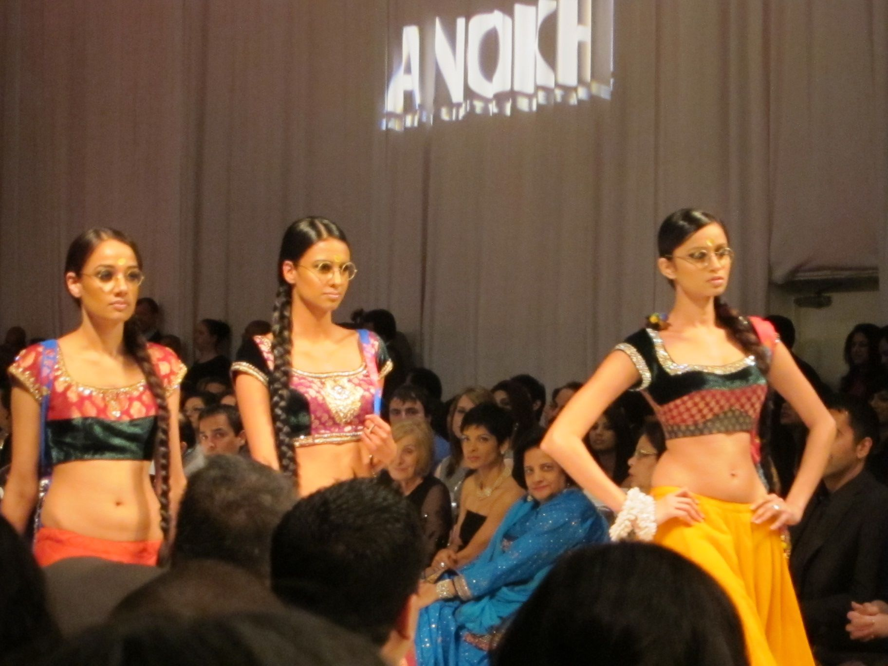 love the glasses from the show at Anokhi