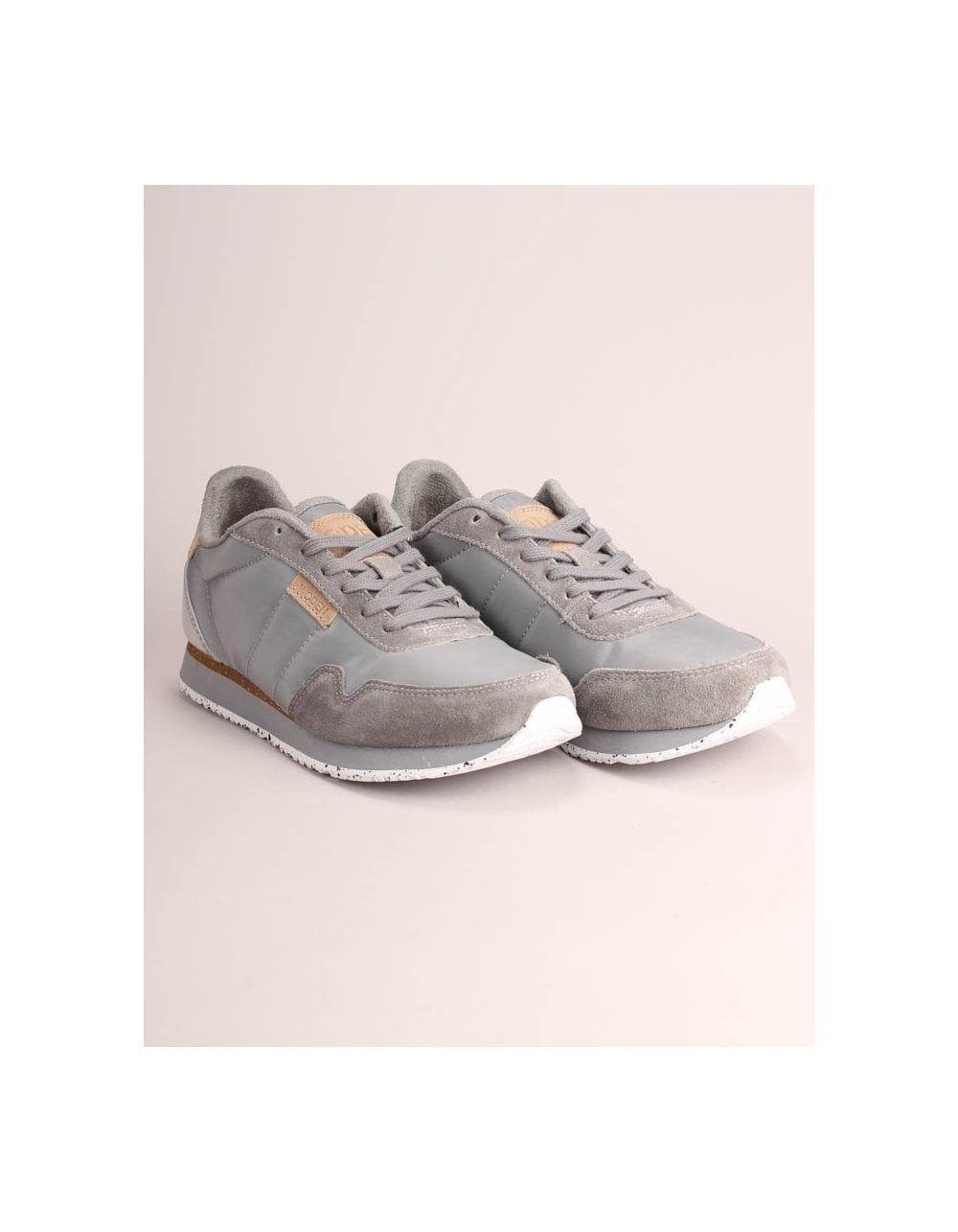 Buy Woden Nora 2 Grey Trainers online