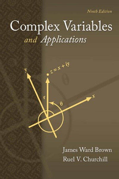 Complex Variables And Applications Brown And Churchill By James Brown Sem Calculus Background James Brown Variables