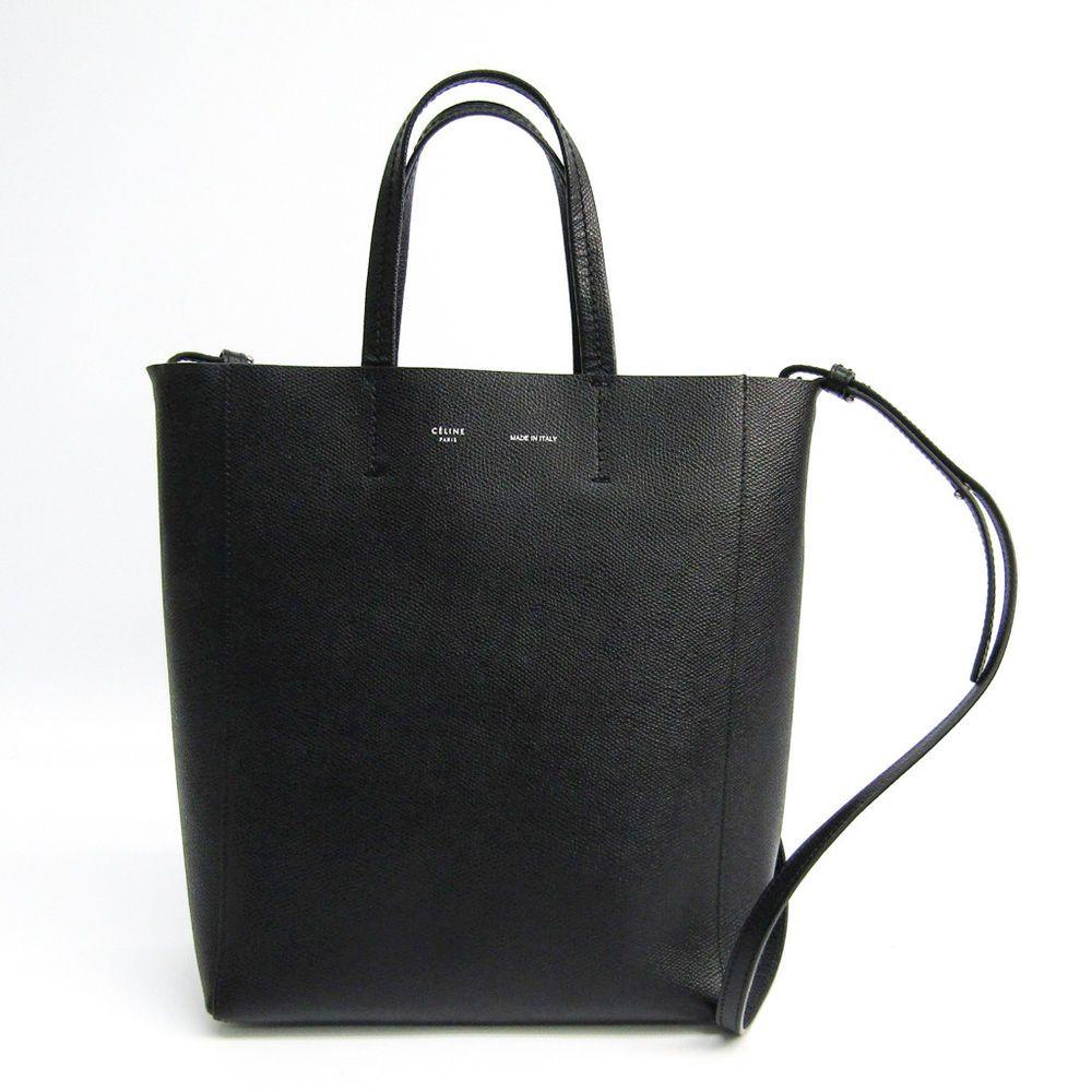 037c1f960799 Celine Small Vertical 176183 Women s Leather Tote Bag Black BF327232  Celine   Totebag