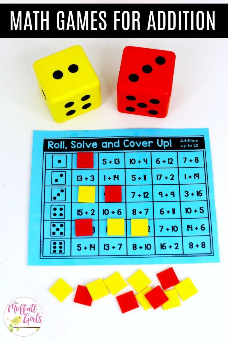 First Grade Math Addition Math Games First Grade Math Math Math addition games grade