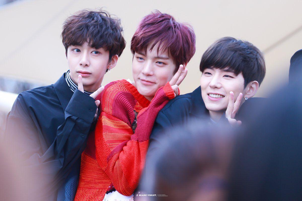 Hyungwon, Minhyuk & Kihyun 170325