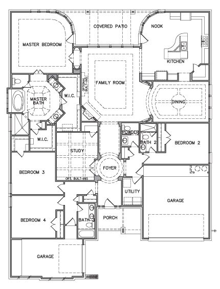 Chaffee 6131 Kb Homes New House Plans Custom Home Plans Floor Plans