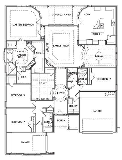 chaffee 6131 kb homes floor plans pinterest black horse ranch floor plan kb home model 3589 downstairs