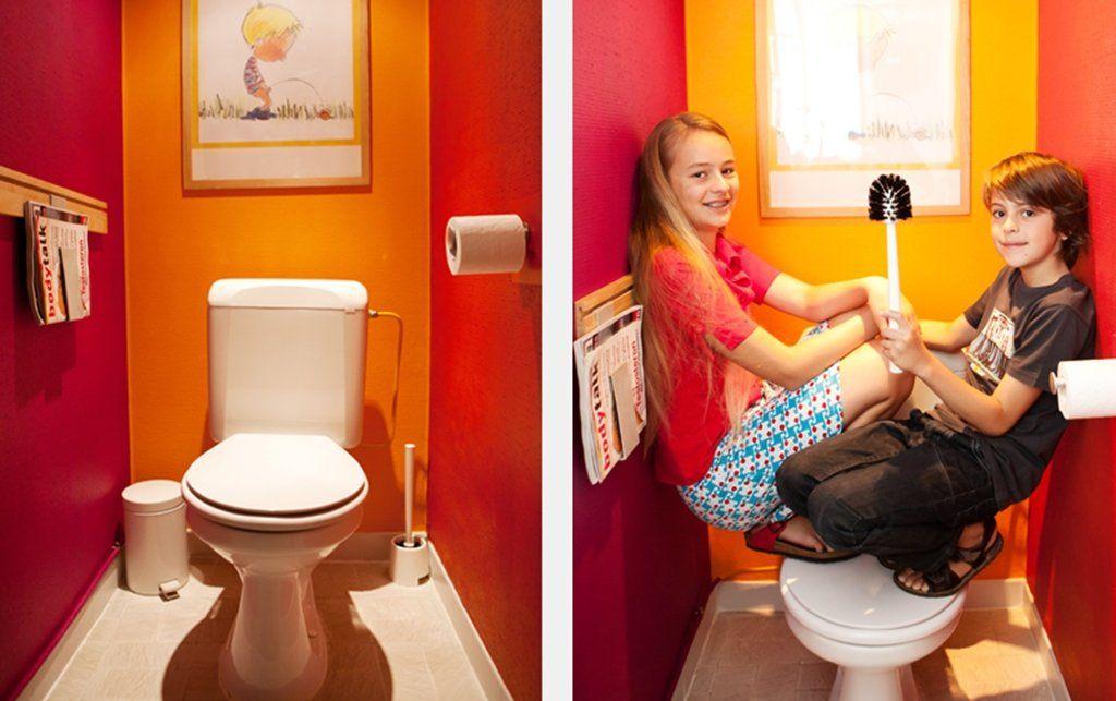 Met Gemak Kleuren Kiezen Voor Je Toilet Repeindre Toilettes Toilettes Deco Toilettes