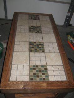 tile a table top 1 00 idea s for the home tiles tile tables rh pinterest com