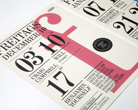 Teacake Design - typographic poster