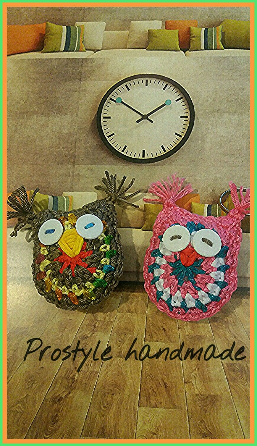 Crochet owl #pendant