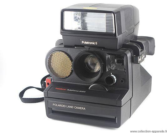 Polaroid Polasonic Af 5000 Instant Film Camera Instant Photography Instant Film