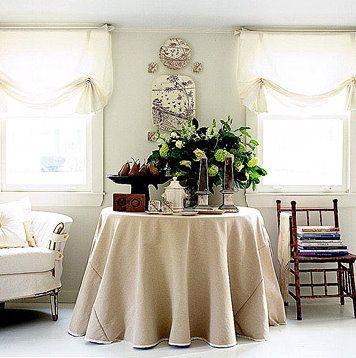 ambientes vintage chic ideas para decorar mantel